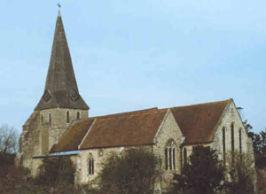 Woodchurch's 13th century church