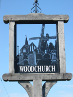 woodchurch village sign