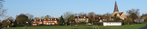 Woodchurch from the Green